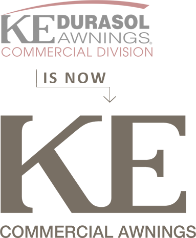 Durasol Commercial Is Now KE Commercial Awnings!